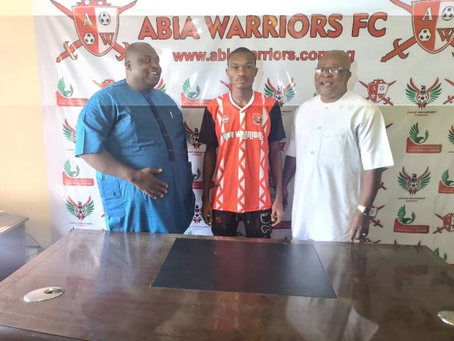 Abia Warriors Signs Young Jewels Academy Stalwart