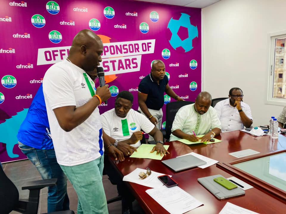 Africell SL signs 700 million Leones worth sponsorship agreement with Sierra Leone Football Association