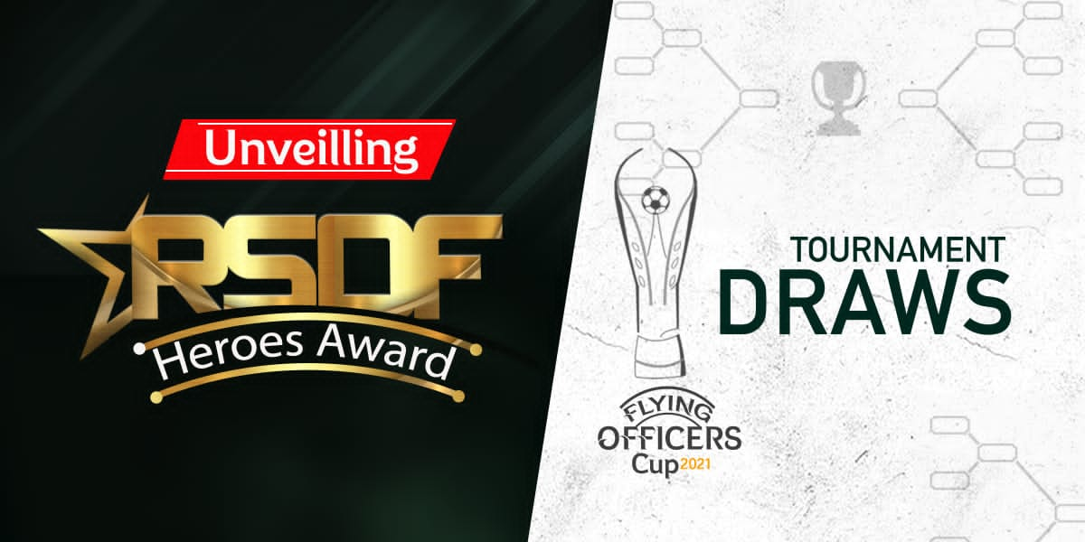 Flying Officers Cup 2021: Draw And RSDF Heroes Award Recipients To Be Unveiled On Thursday.